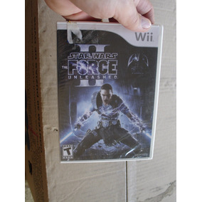 = Wii Jogo Star Wars Ii The Force Unleashed Lacrado