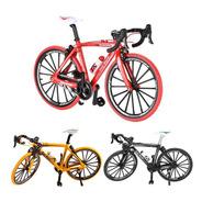 Bicicleta Speed Miniatura Metal 1:10 Mountain Bike Die Cast