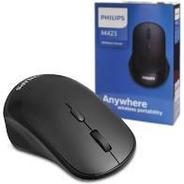 Mouse Usb S/ Fio Philips M423 Preto
