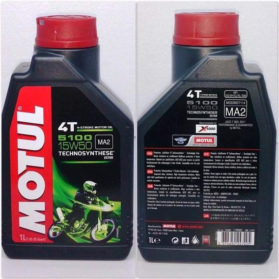 Aceite Motul 5100 Semisintetico 15w50 Motos Miguel