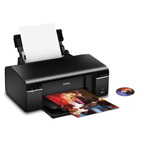 Impresora Epson T50 Imprime Cds Y Dvds Igual Que La L805