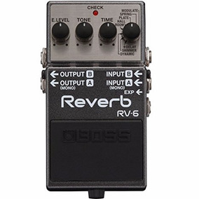 Pedal Boss Rv-6 - Shimmer - Reverb - Brindes