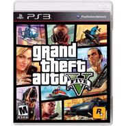 Grand Theft Auto Gta V 5 Ps3 Fisico Sellado Original Ade