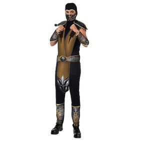 Fantasia Scorpion - Mortal Kombat Adulto