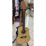 Guitarra Electroacustica S101 Docerola Nueva, Funda Y Envio