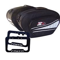 Kit Fazer 250 Alforge Mala Esportivo 35 L + Afastador