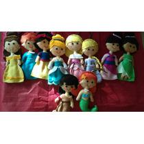 Princesas Disney De Fieltro