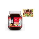Nutella 5kg Importada (7 Potes De 700gr Cada) Aro Nutkao