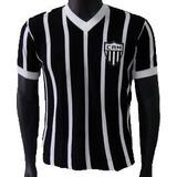 Camiseta Retrô Atlético Mineiro 1940 Blusa Camisa Galo Doido