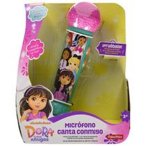 Fisher Price Dora Micrófono Canta Conmigo