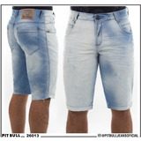 Bermuda Jeans Masculina Pit Bull Jeans Original. 26013(enc)