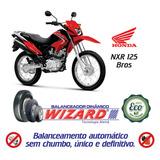 Balanceamento Dinâmico Sem Chumbo Moto Honda Nxr 125 Bros