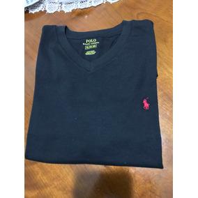 Camiseta Polo Ralph Lauren Original Preta Tamanho P