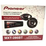Combo Pioneer Mxt 286bt Radio Bt Sin Cd + Parlante 6 Pioneer
