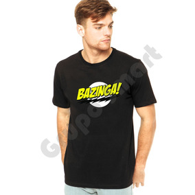 Camiseta Camisa Bazinga Sheldon Cooper - Big Bang Theory