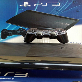 Playstation 3 Super Slim + 5 Jogos + 2 Controle + Garantia