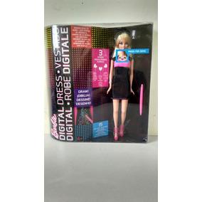 Muñeca Barbie Vestido Digital