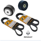 Kit Correia Alternador Renault Logan 1.0 16v 2011