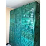 Canastillas Plásticas Barras Nuevas Originales Color Verde