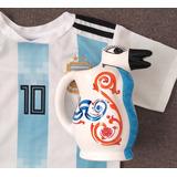 Jarra Vino Pingüinos Camiseta Argentina Mundial Rusia