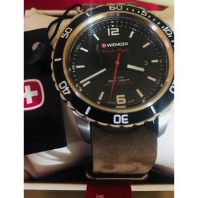 Reloj Suizo Swiss Army Wenger Victorinox Blacknight Urbano