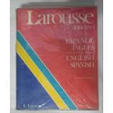 Larousse Diccionario Español Ingles