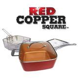 Red Copper La Sartén De Cerámica