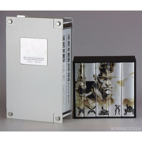 Metal Gear 25th Anniversary Metal Gear Solid Artbook Collect