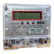 Medidor Monofasico De Consumo Electrico Luz Digital Jieli