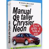 Manual Taller Partes Diagramas E. Neon 97 99 Español