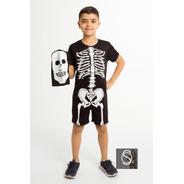 Fantasia Halloween Menino Infantil Macacão De Dia Bruxas