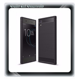 Forro Tpu Carbono Protector Antigolpe Sony Xperia Xa1 Ultra