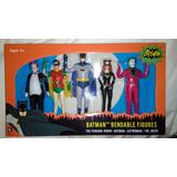 Figura De Acción Pack Batman Classic Tv Series Bendeable