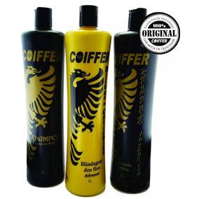 Kit Blindagem Dos Fios Coiffer + Shampoo Gloss November 1l