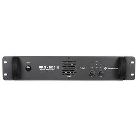 Amplificador De Potência Ll Pro 800x Classe Ab 200 W Rms