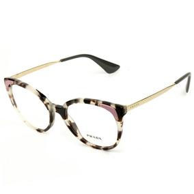 df601b5d9 Arma o Prada Vpr 230 A (branco) - Óculos no Mercado Livre Brasil
