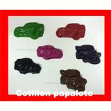 Souvenir Crayones Cars Autos Mate Cumple Tematico Niños X24
