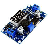 Fuente Dc-dc Lm2596 Voltimetro Display Step Down Pcb - A0047