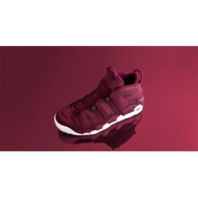 Zapatillas Nike Air More Uptempo Night Maroon