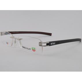 Armação P/ Óculos De Grau Sem Aro Tag Heuer 7644