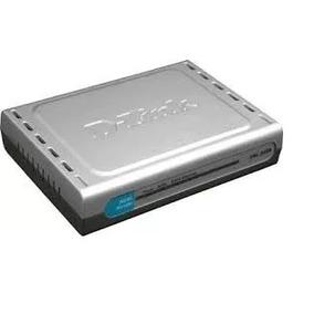 Roteador Modem Adsl2/2+ D-link Dsl-500b - Novo - Ac. Troca!!