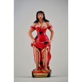 Imagem Pomba Gira Maria Mulambo Escultura Em Gesso Estatua