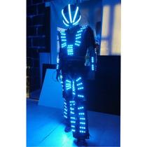Traje Iluminado Tb 15 Robot Led