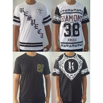 Camisa Perene Clothing Thug Rap Swag Longa Camuflada Og Abel