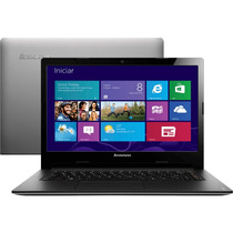 Notebook Lenovo S400 Intel I3 Hd 500gb Ram 4gb Led 14 Wind 8