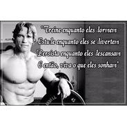 Poster Foto 60x90cm Decoração Academia Personal Musculação