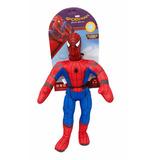 Muñeco Soft Spiderman Con Sonido Lic.original New Toys