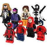 Whiplash Venompool Tarantula Spiderman Compatible Con Lego