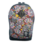 Mochila Portanotebook Universitaria Escolar Estampada