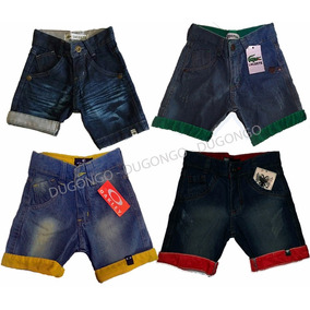 Shorts Bermuda Jeans Infantil Varias Marcas Dia Dia Festa Vs